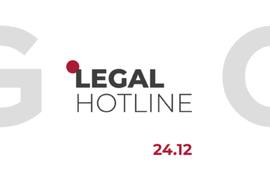 LEGAL HOTLINE 24.12.2020