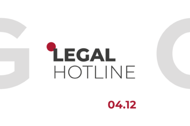 LEGAL HOTLINE 04.12.2020