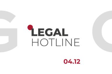 LEGAL HOTLINE 04.12.2020