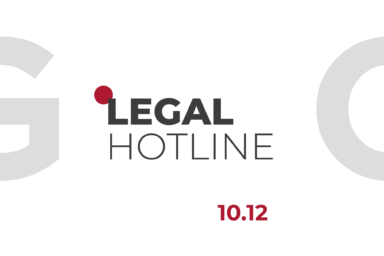 LEGAL HOTLINE 10.12.2020