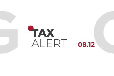 TAX ALERT 08.12.2020