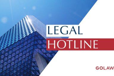 LEGAL HOTLINЕ 15.08.2019