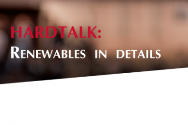 HARDTALK: Renewables in details