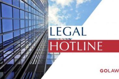 Legislative news digest: LEGAL HOTLINE 11.04.2019