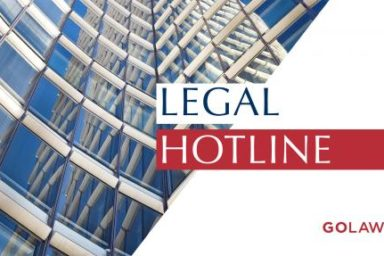 Legislative news digest: LEGAL HOTLINE 18.04.2019