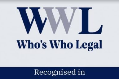 GOLAW lawyers have been highly recognised in Corporate Tax by  international legal advisory Who's Who Legal