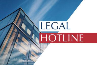 Legislative news digest: LEGAL HOTLINE 17.10.2019