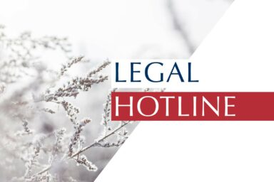 LEGAL HOTLINE 21.02.2020