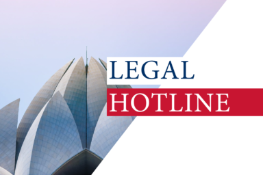LEGAL HOTLINE 27.08.2020