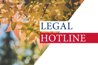 LEGAL HOTLINE 03.09.2020