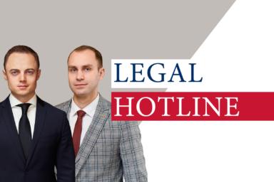 LEGAL HOTLINE 19.10.2020