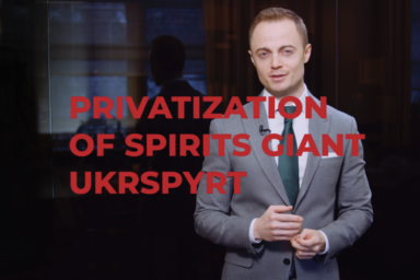Privatization of spirits giant Ukrspyrt