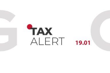 TAX ALERT 19.01.2021