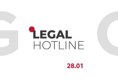 LEGAL HOTLINE 28.01.2021