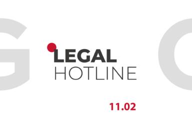 LEGAL HOTLINE 11.02.2021