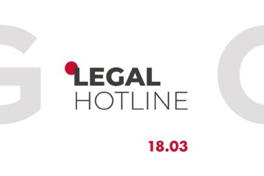 LEGAL HOTLINE 18.03.2021