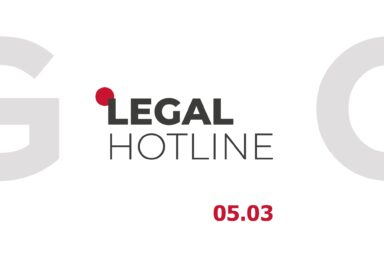 LEGAL HOTLINE 05.03.2021