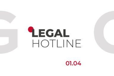LEGAL HOTLINE 01.04.2021
