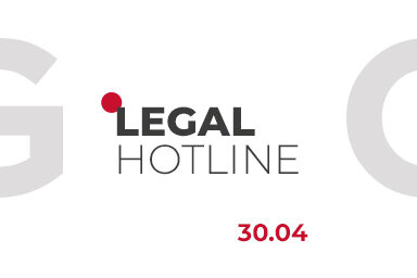LEGAL HOTLINE 30.04.2021