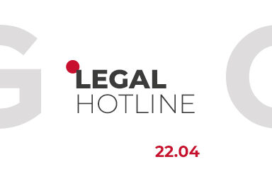 LEGAL HOTLINE 22.04.2021
