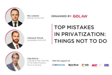 Top mistakes in privatization: things not to do