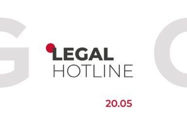 LEGAL HOTLINE 20.05.2021