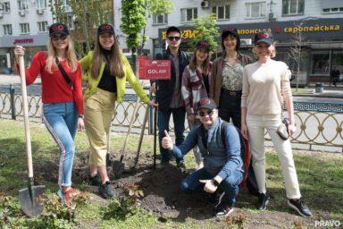 GOLAW приєдналася до еко-проекту «Алея юридичної практики»