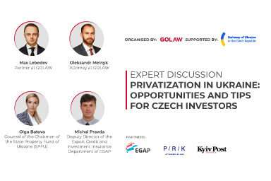 Privatization in Ukraine: opportunities and tips for Czech investors